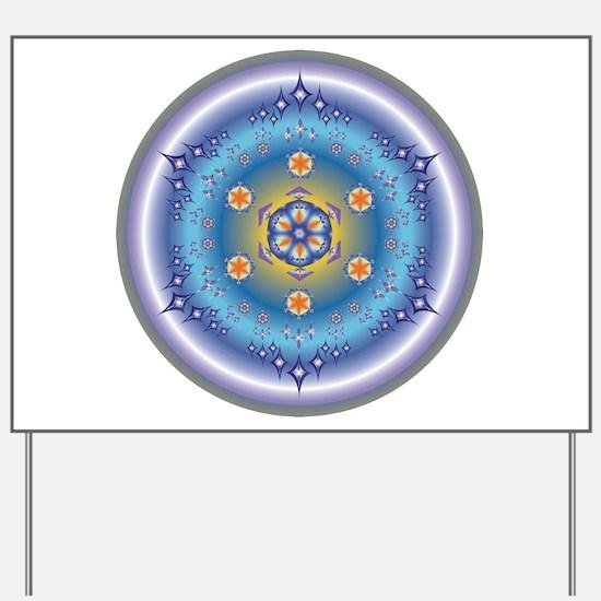 Divive Harmony Mandala Yard Sign