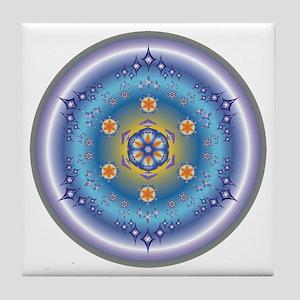Divive Harmony Mandala Tile Coaster