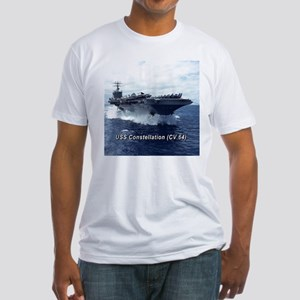 USS Constellation (CV 64) Fitted T-Shirt