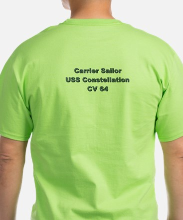 USS Constellation (CV 64) T-Shirt