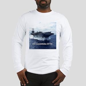 USS Constellation (CV 64) Long Sleeve T-Shirt