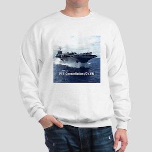 USS Constellation (CV 64) Sweatshirt