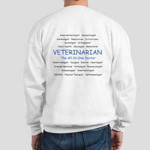Veterinarian The All-In-One D Sweatshirt