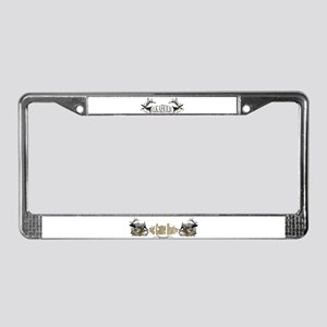 Elkoholic License Plate Frame
