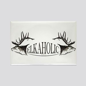Elkoholic Rectangle Magnet