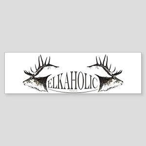 Elkoholic Sticker (Bumper)