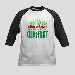 Old Fart Kids Baseball Jersey