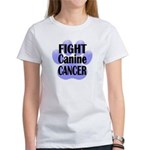 Women's T-Shirt - Fight Canine CAncer