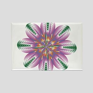 Divive Harmony Mandala Rectangle Magnet