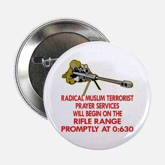 """Terrorist Prayer Services 2.25"""" Button"""