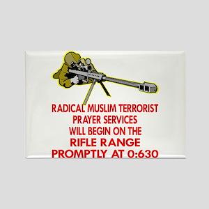 Terrorist Prayer Services Rectangle Magnet