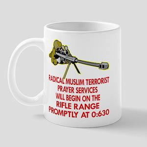 Terrorist Prayer Services Mug
