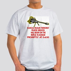 Terrorist Prayer Services Light T-Shirt