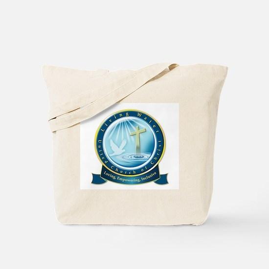 Living Water UCC Logo Tote Bag