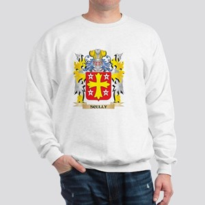 Scully Family Crest - Coat of Arms Sweatshirt