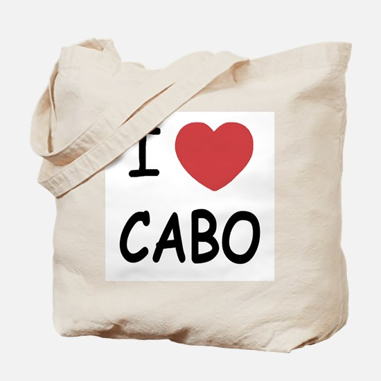 I heart Cabo Tote Bag