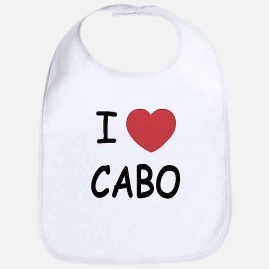 I heart Cabo Bib