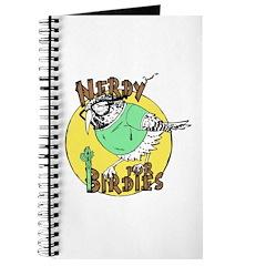 Nerdy For Birdies Logo Journal