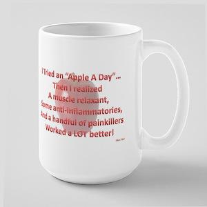 Apple A Day Large Mug