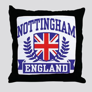 Nottingham England Throw Pillow