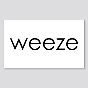 WEEZE Rectangle Sticker