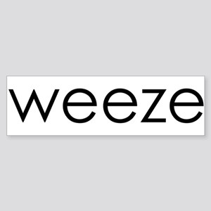 WEEZE Bumper Sticker