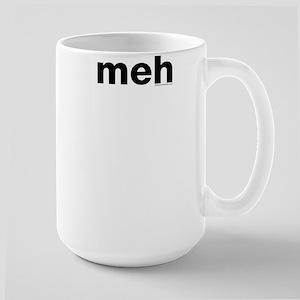 meh Large Mug