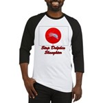 Stop Dolphin Slaughter Baseball Jersey