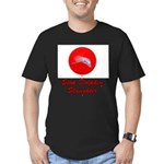 Stop Dolphin Slaughter Men's Fitted T-Shirt (dark)