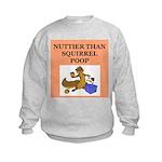 nutty crazy Kids Sweatshirt