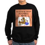 nutty crazy Sweatshirt (dark)