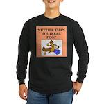 nutty crazy Long Sleeve Dark T-Shirt