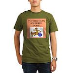 nutty crazy Organic Men's T-Shirt (dark)