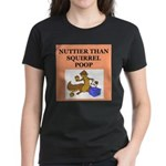 nutty crazy Women's Dark T-Shirt
