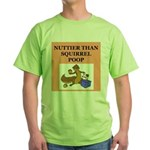 nutty crazy Green T-Shirt