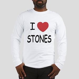 I heart Stones Long Sleeve T-Shirt