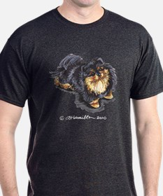 pomeranian merchandise black and tan pomeranian gifts merchandise black and 2873
