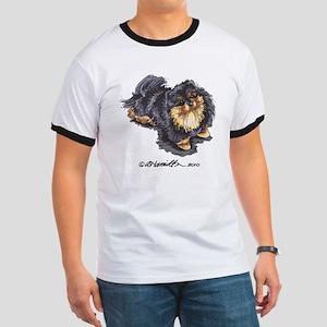Black Tan Pomeranian Ringer T