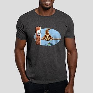 Wirehaired Dachshund Lover Dark T-Shirt