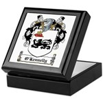 O'Kennelly Coat of Arms Keepsake Box