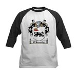 O'Kennelly Coat of Arms Kids Baseball Jersey