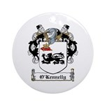 O'Kennelly Coat of Arms Ornament (Round)