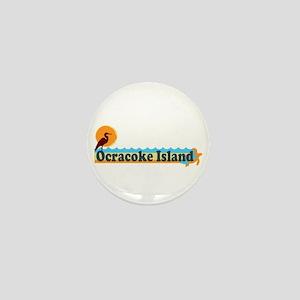 Ocracoke Island - Beach Design Mini Button