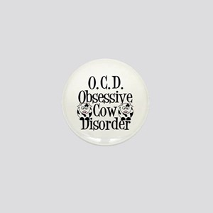 Obsessive Cow Disorder Mini Button
