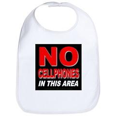 No Cellphones Bib