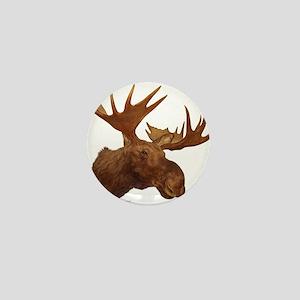 moose head Mini Button