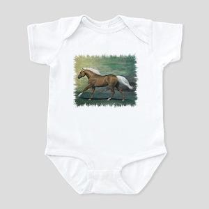 Palomino Stallion Infant Bodysuit