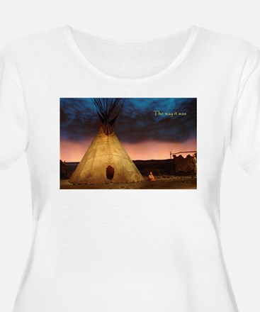 teepee Plus Size T-Shirt
