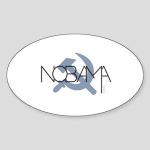 NOBAMA! Sticker (Oval)