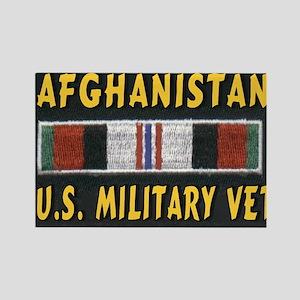 AFGHANISTAN MILITARY VET Rectangle Magnet